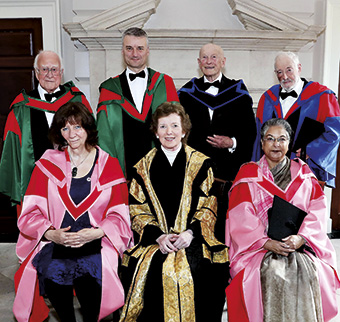 trinity honourary degrees