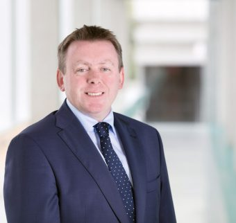 Fergal O'Brien, new director of research and innovation